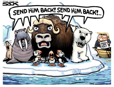 ANOTHER VIEW | STEVE SACK, MINNEAPOLIS STAR TRIBUNE
