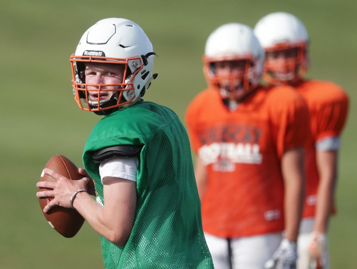 Prep football photo: Verona quarterback Adam Bekx
