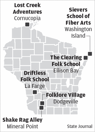 Wisconsin folk schools