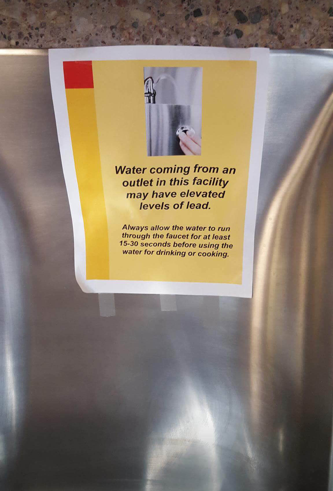 Photos show yellow water at Wisconsin Veterans Home at King ...