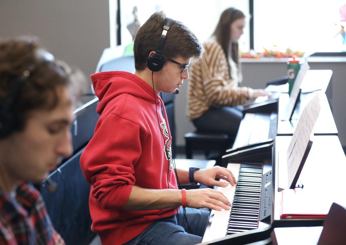 Edgewood High School piano program