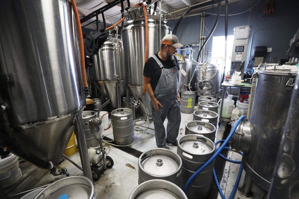 Starkweather Brewing brewhouse