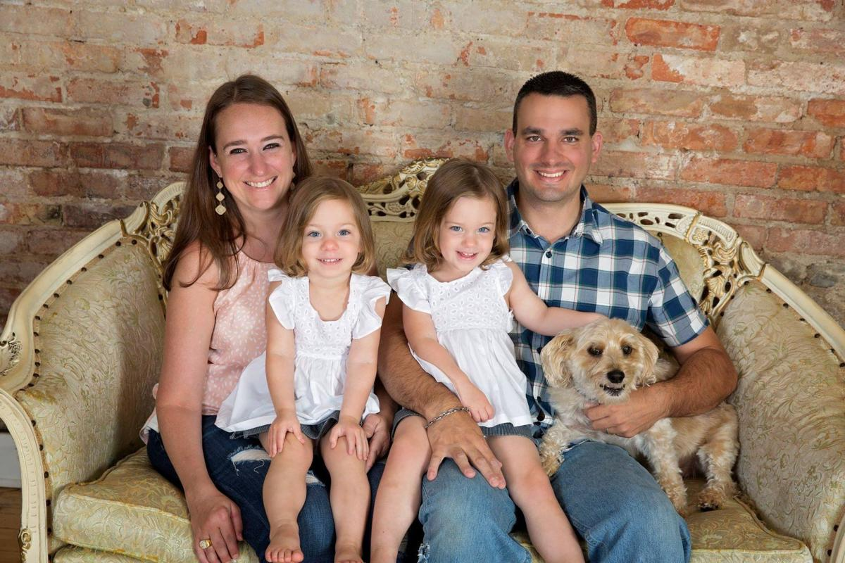 Cory Barr and family