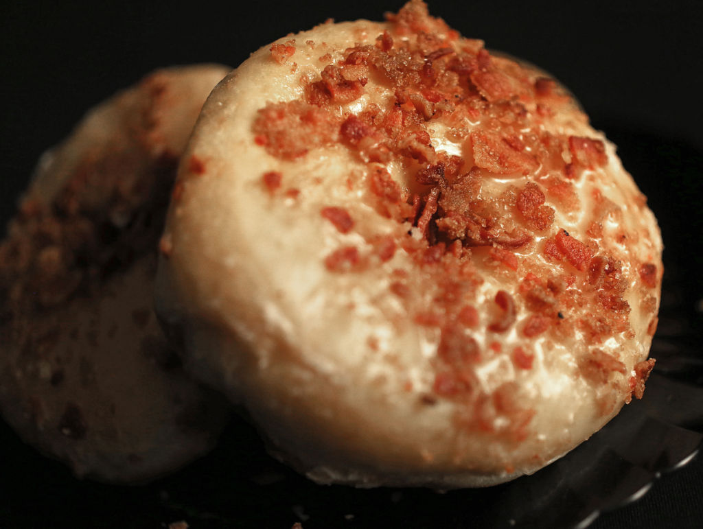 Maple bacon doughnuts from Bassett Street Brunch Club