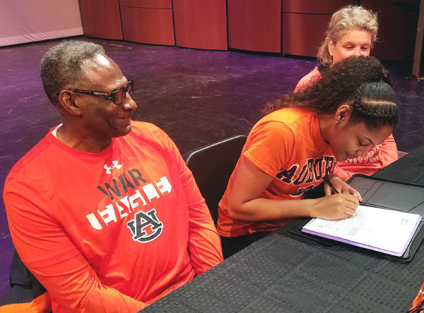 Madison East's Erin Howard signs with Auburn University