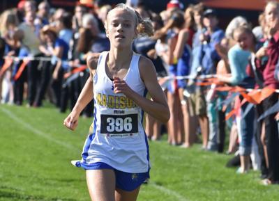Prep cross country photo: Madison West's Genevieve Nashold wins the Verona Invitational girls race