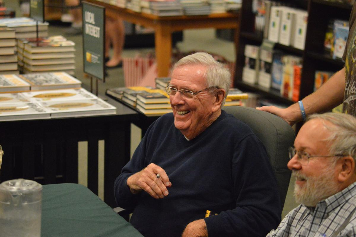 Ron Wolf at book signing 1