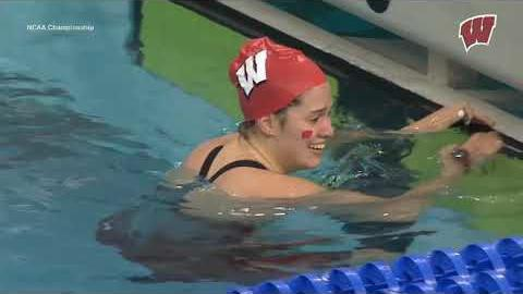 Badgers' Beata Nelson wins national title in 200 IM