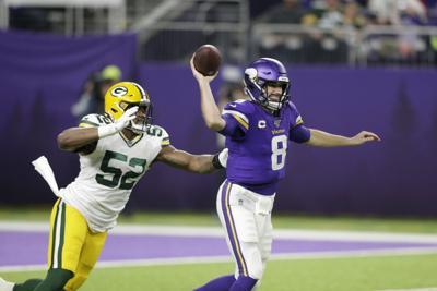 Kirk Cousins - Packers Vikings