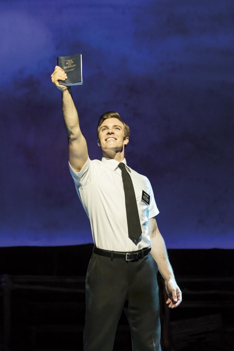 Book of mormon man up chicago
