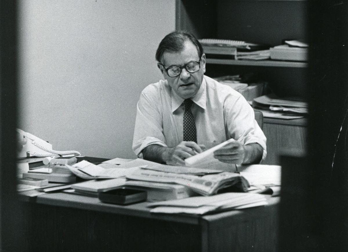 Elliott Maraniss in 1981