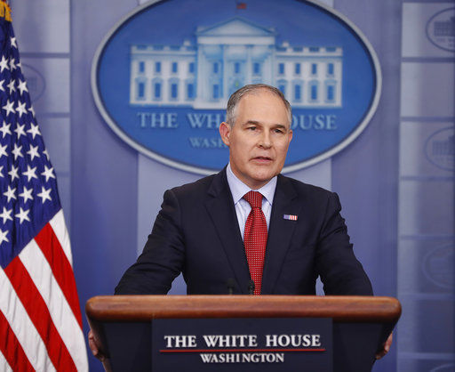 EPA watchdog reviewing agency chief's trips home to Oklahoma
