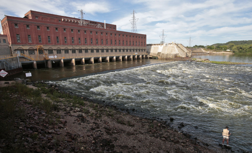 Prairie du Sac Hydroelectric Dam