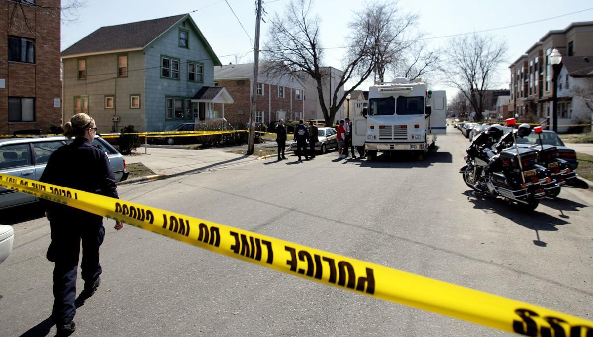 Doty Street crime scene
