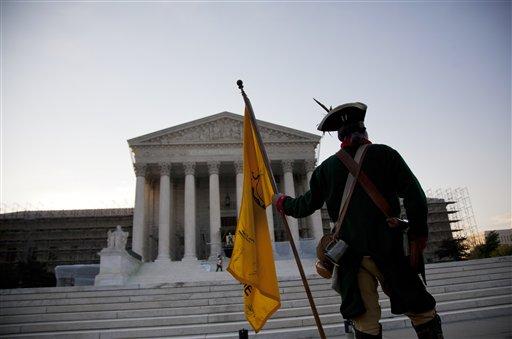 APTOPIX Supreme Court Health Care