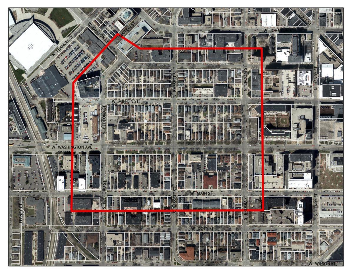 West Mifflin / West Washington plan area aerial