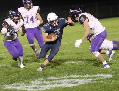 Prep football photo: Casey Campbell scores four TDs for Reedsburg against Waunakee