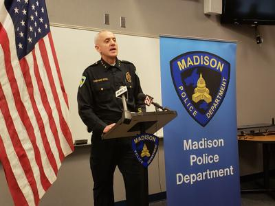 Madison Police Chief Mike Koval