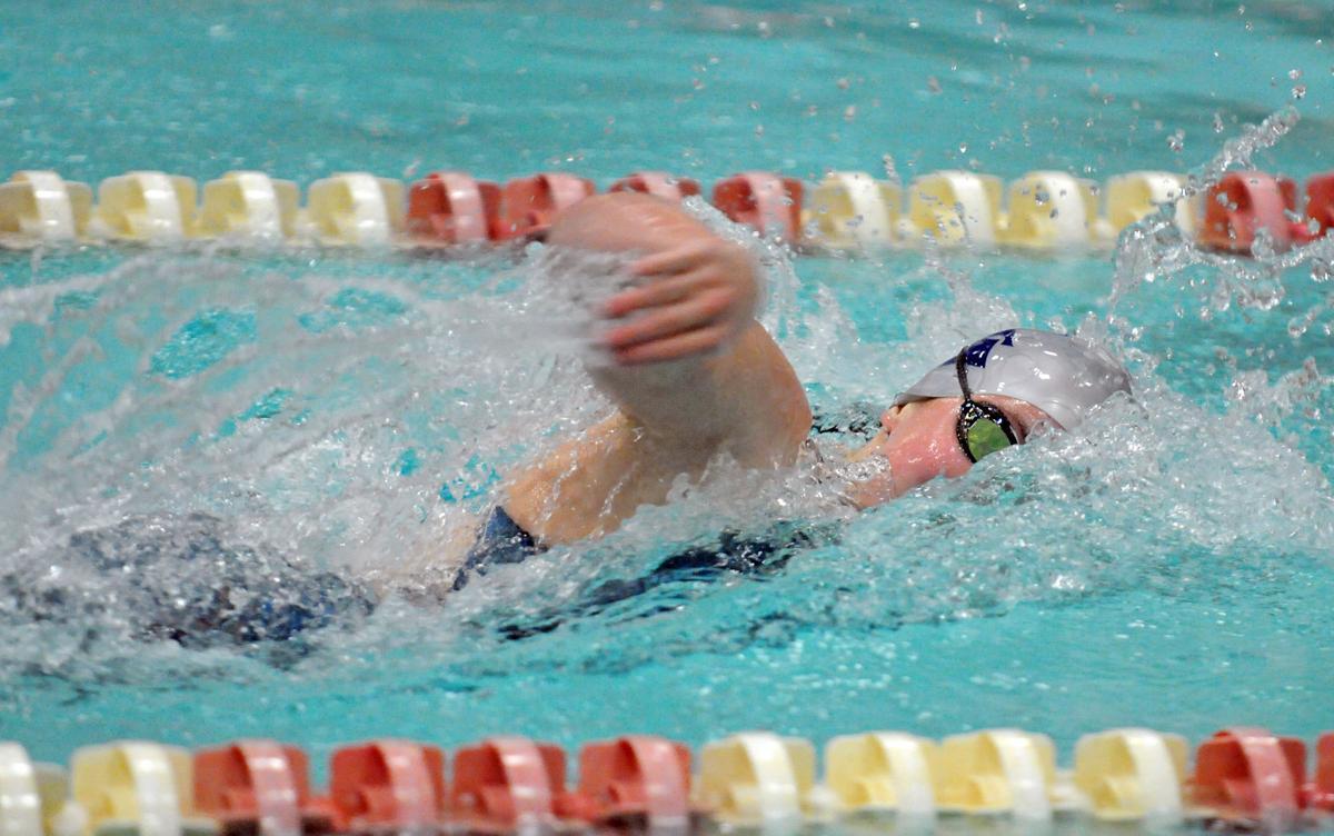 Alex Moderski in 100 freestyle