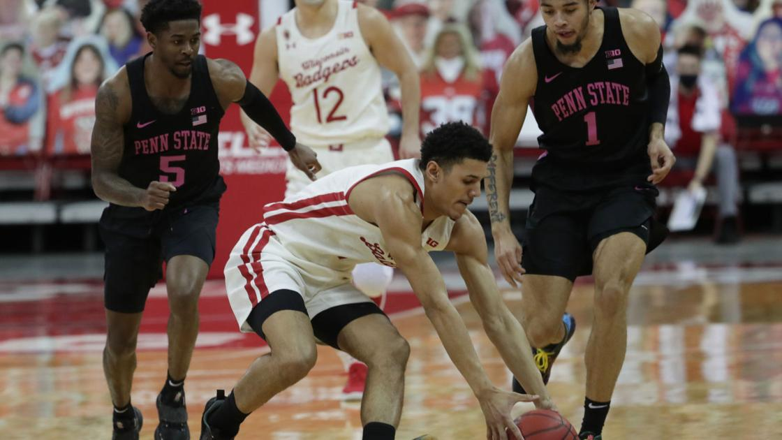 Badgers fans on <b>Twitter</b> divided on Wisconsin's prospects after thrashing of Penn State Nittany Lions thumbnail