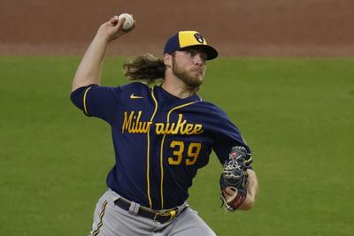 Corbin Burnes - Brewers vs. Padres