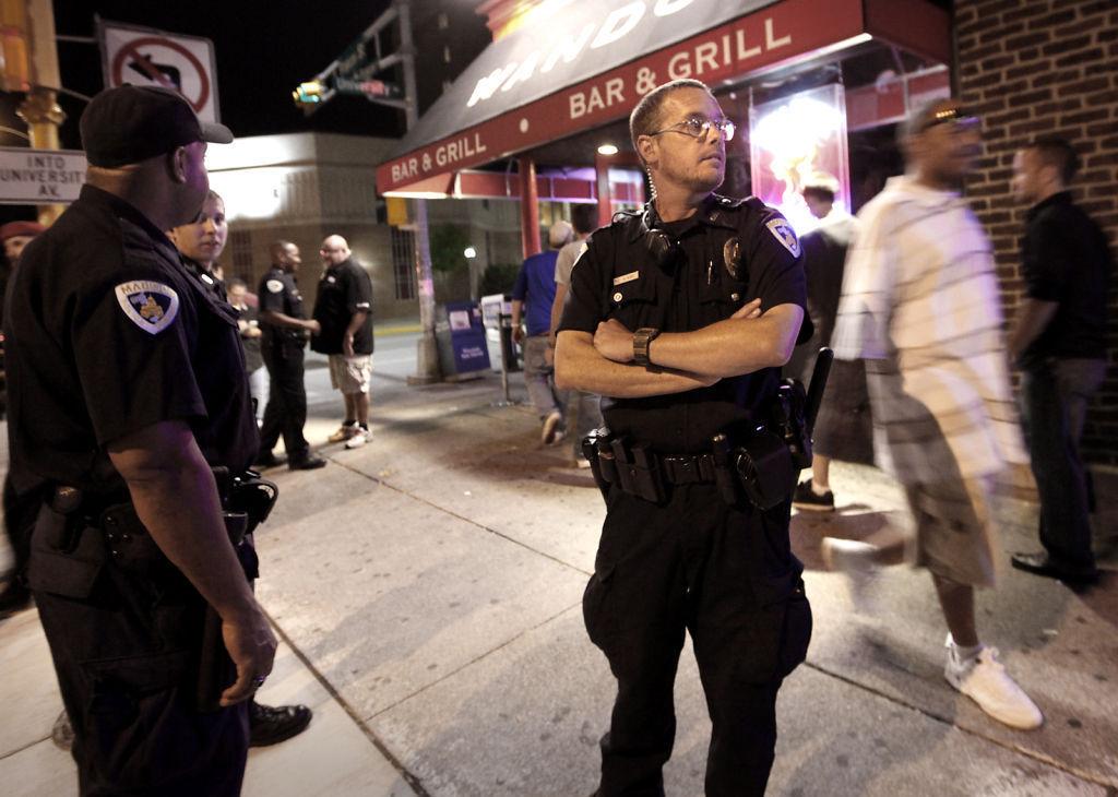 Madison police officer Matt Kenny