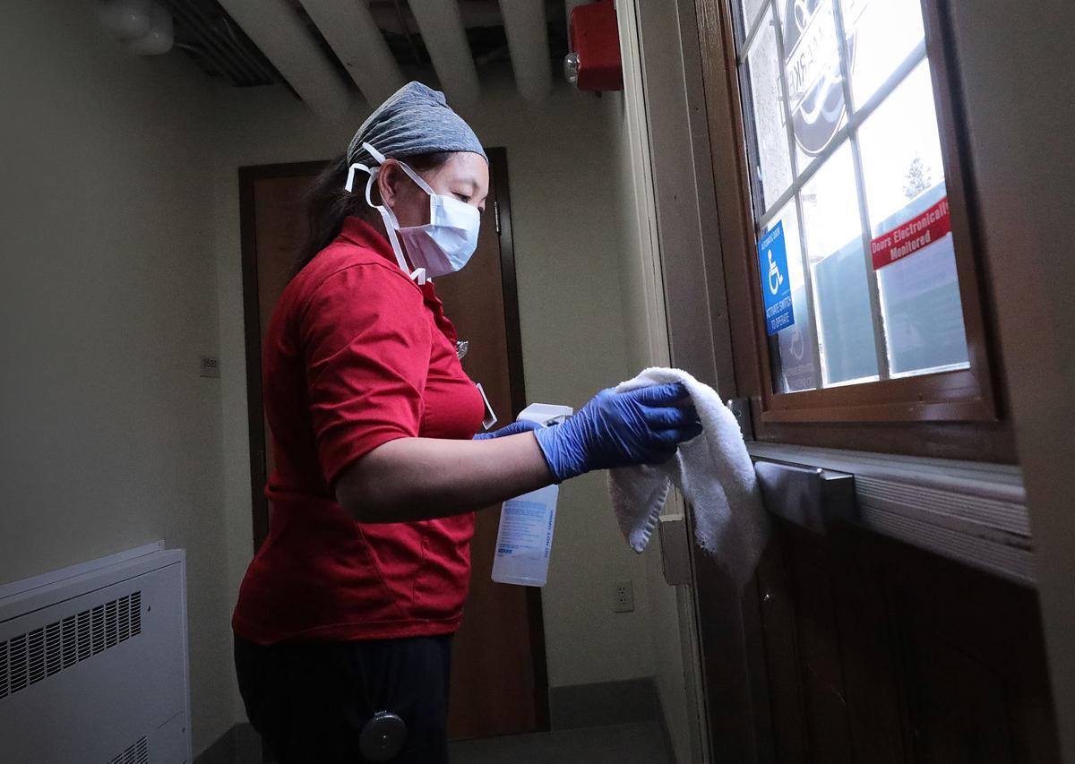 Coronavirus cleaning at UW