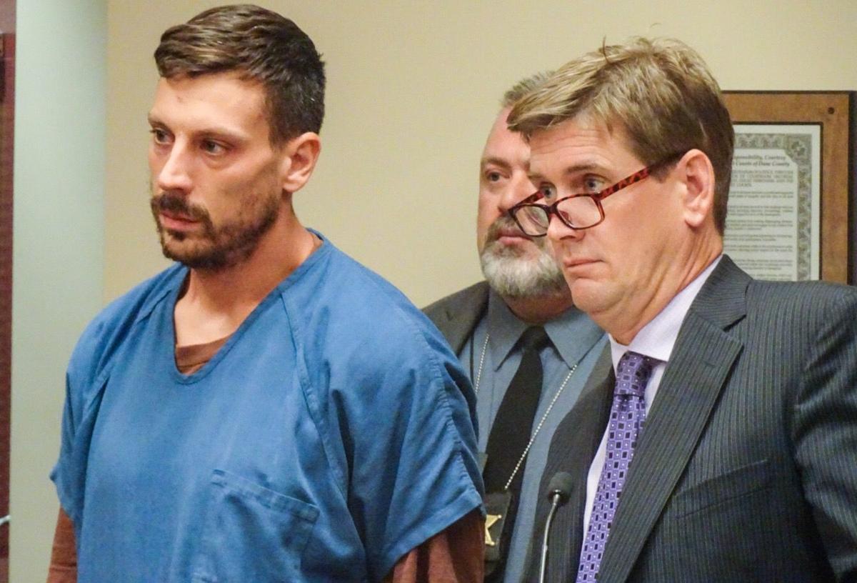 Andrew Meeks in court