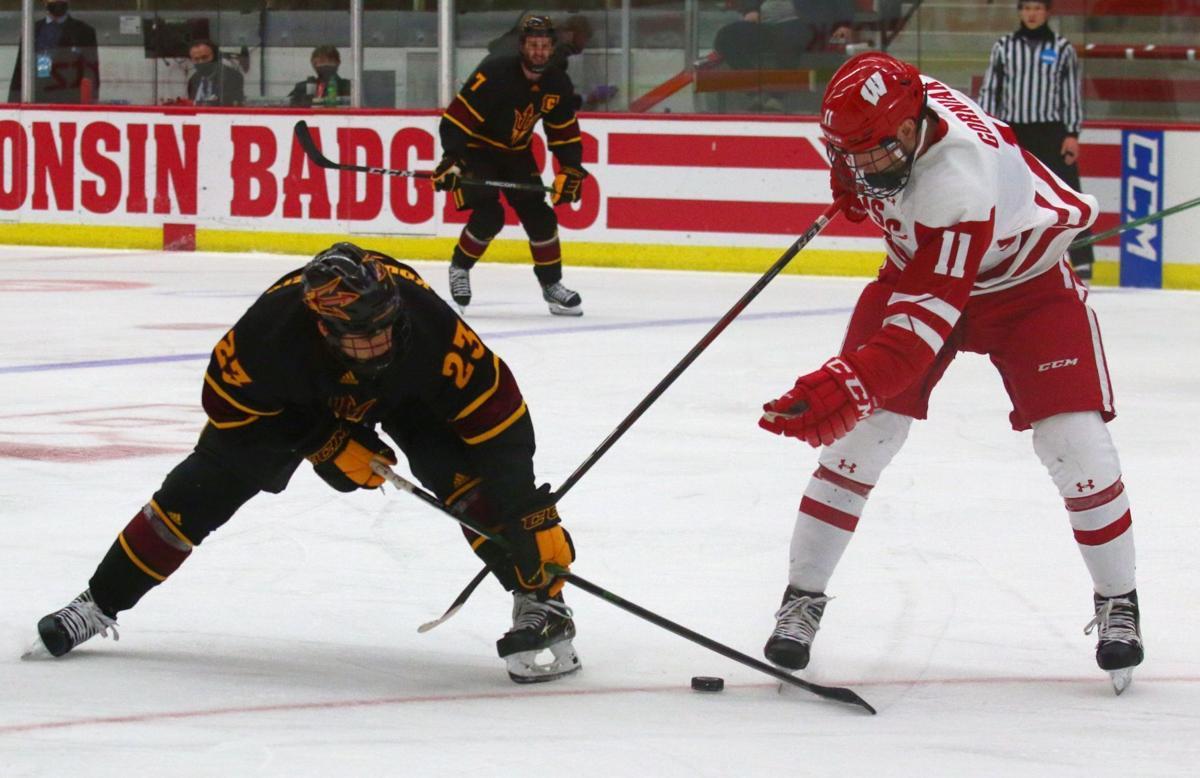 Badgers men's hockey vs. Arizona State