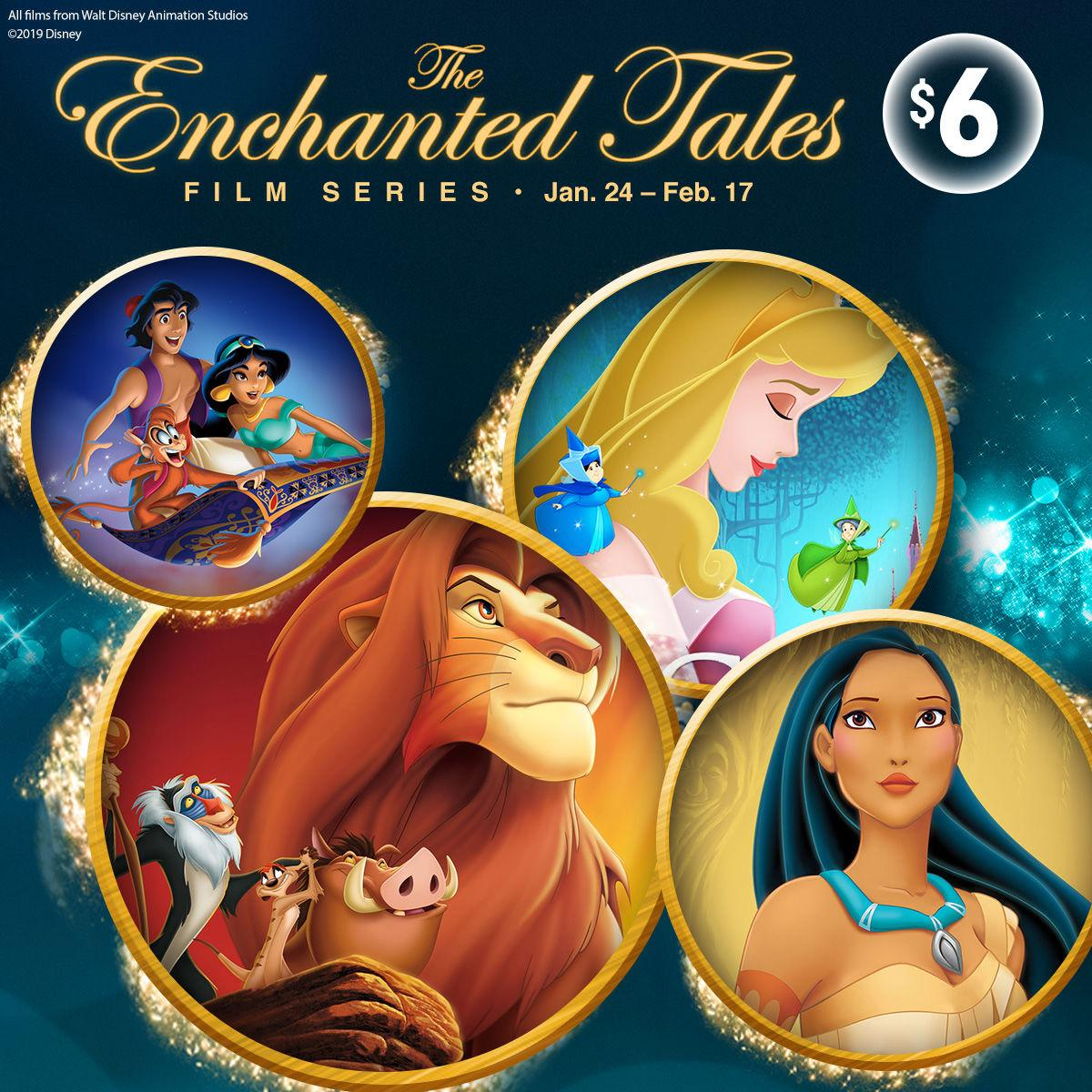 See Disney classics for just $6 at Marcus Theatres!