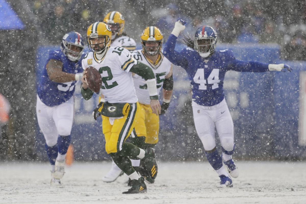 Packers Giants Football