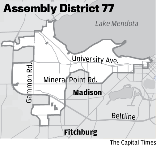 Assembly District 77 Map