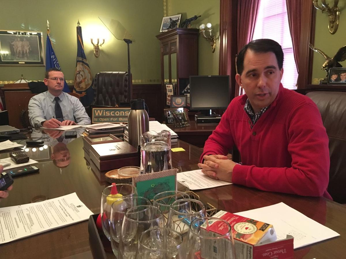 Scott Walker to propose record level of K-12 state aid in budget