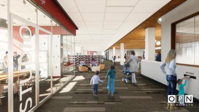 Pinney Library interior (copy)
