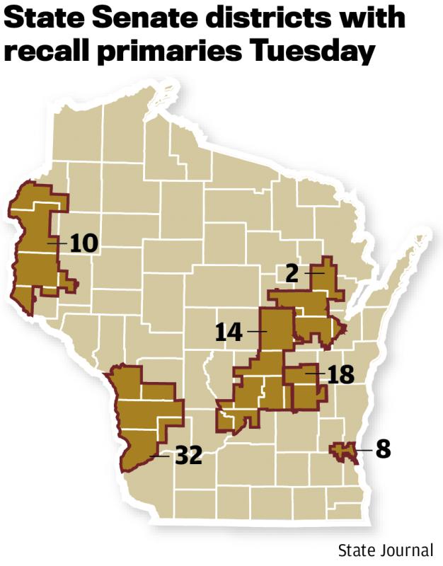 Senate recall map 0713