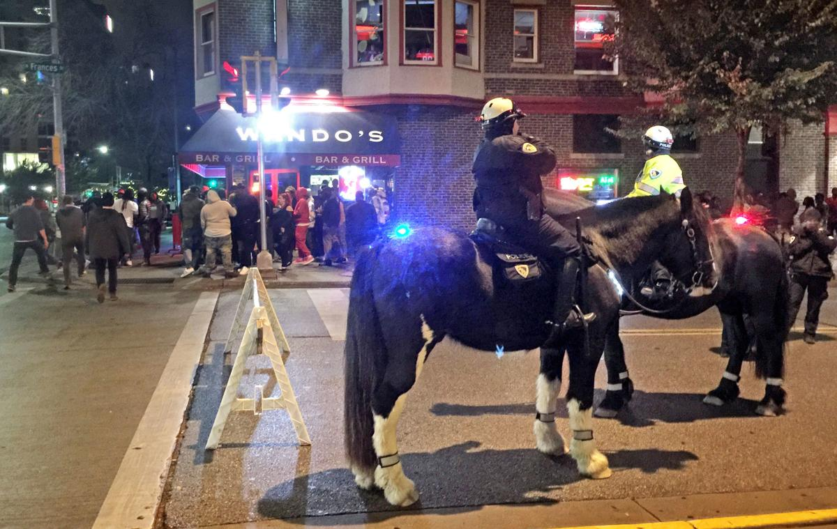 Madison police mounted patrol