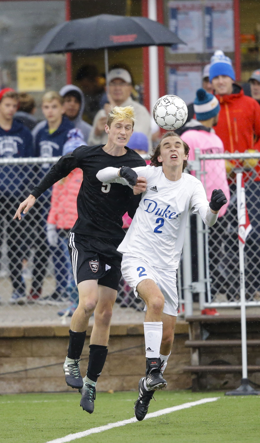 WIAA boys soccer photo: Oregon's Colin McCombs
