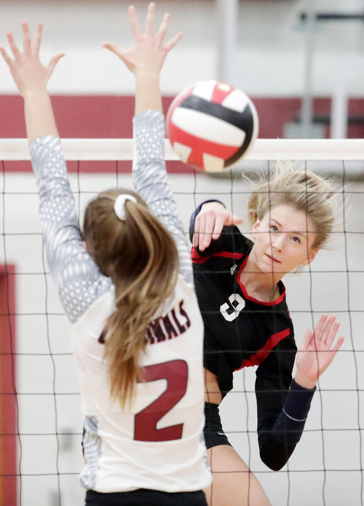 All-state volleyball photo: Sun Prairie's Claire Chaussee