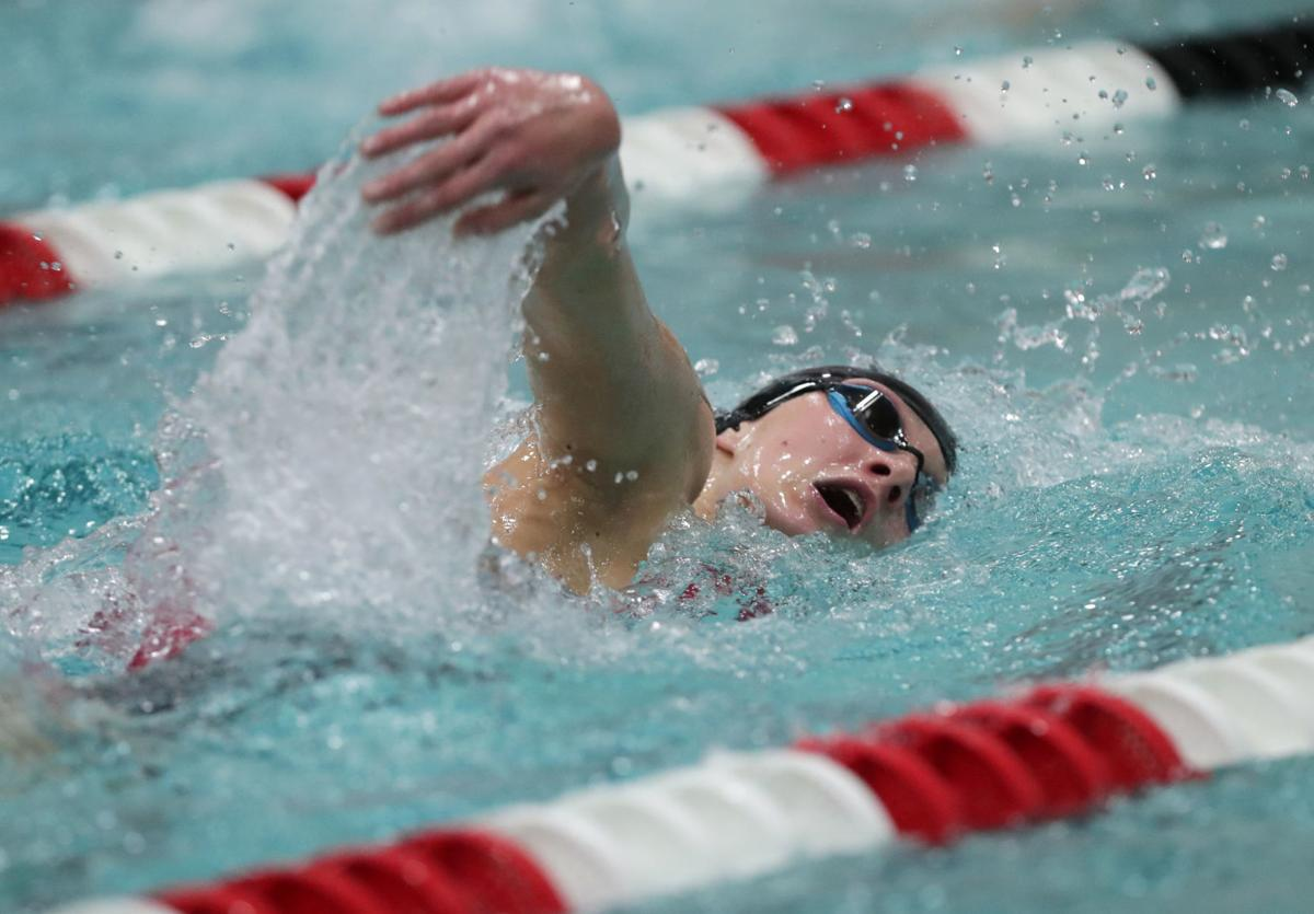 WIAA Division 1 girls state swimming and diving meet