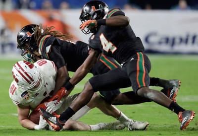 Miami defense-Pinstripe Bowl