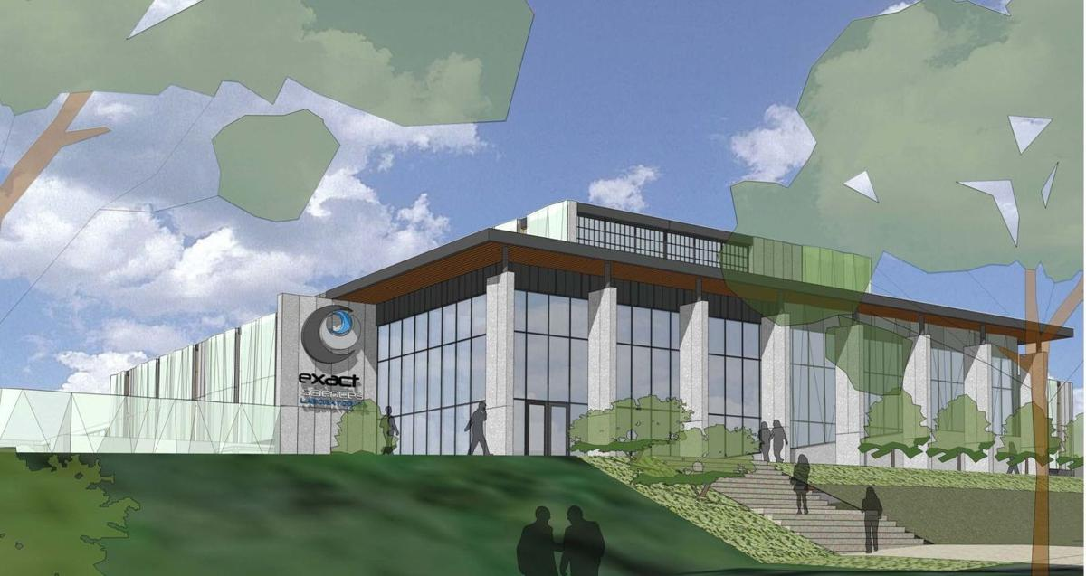 Exact Sciences new lab rendering