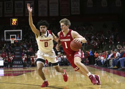 911159857ec Badgers men s basketball  Wisconsin s winning streak ends as Rutgers ...