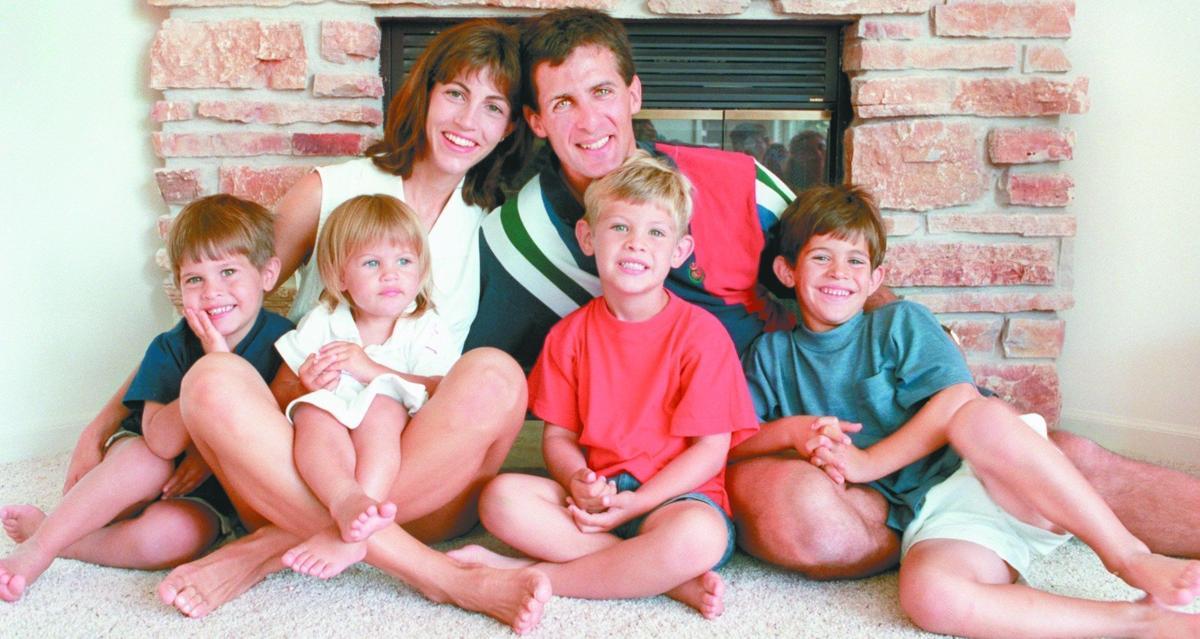The Granato family, 1996