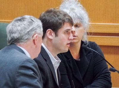 Alec Cook in court