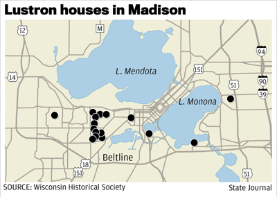 Lustron houses in Madison