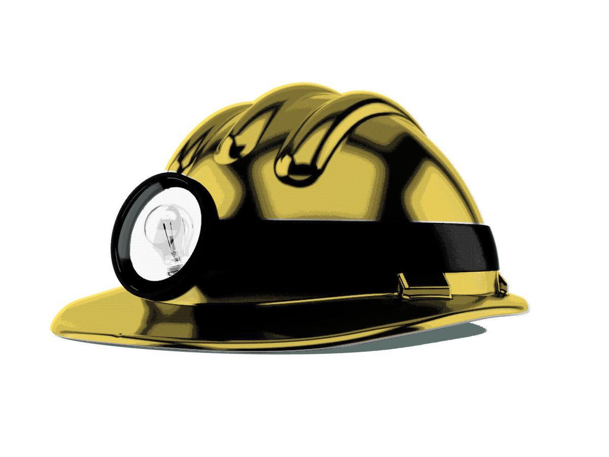 Mining helmet illustration 11.29.17