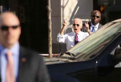 Joe Biden in Madison