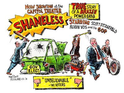 Ken Stark cartoon