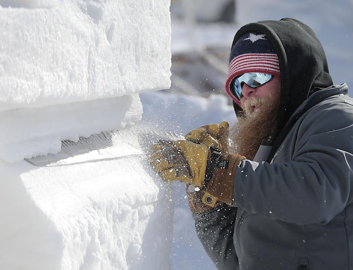 U.S. National Snow Sculpting Championship in Lake Geneva