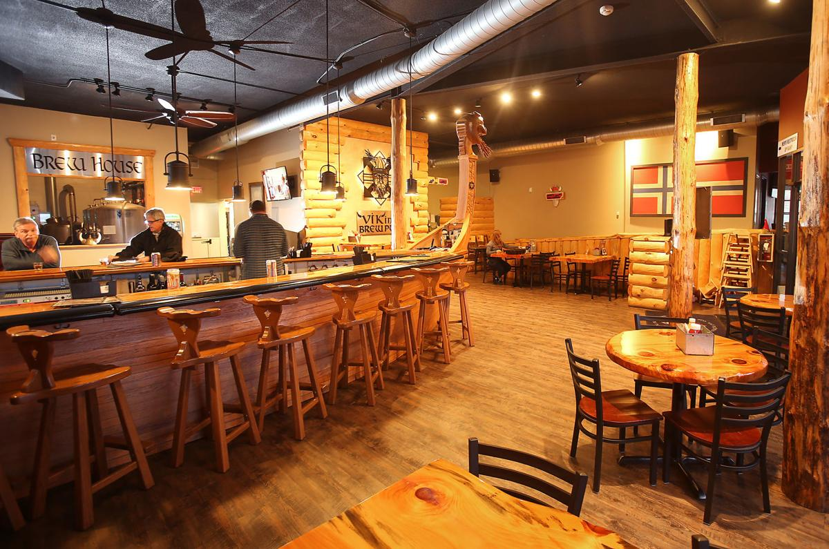Viking Brew Pub interior